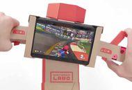 Mario Kart 8 Deluxe : premier jeu compatible avec Nintendo Labo