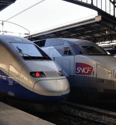 TGV SNCF en gare