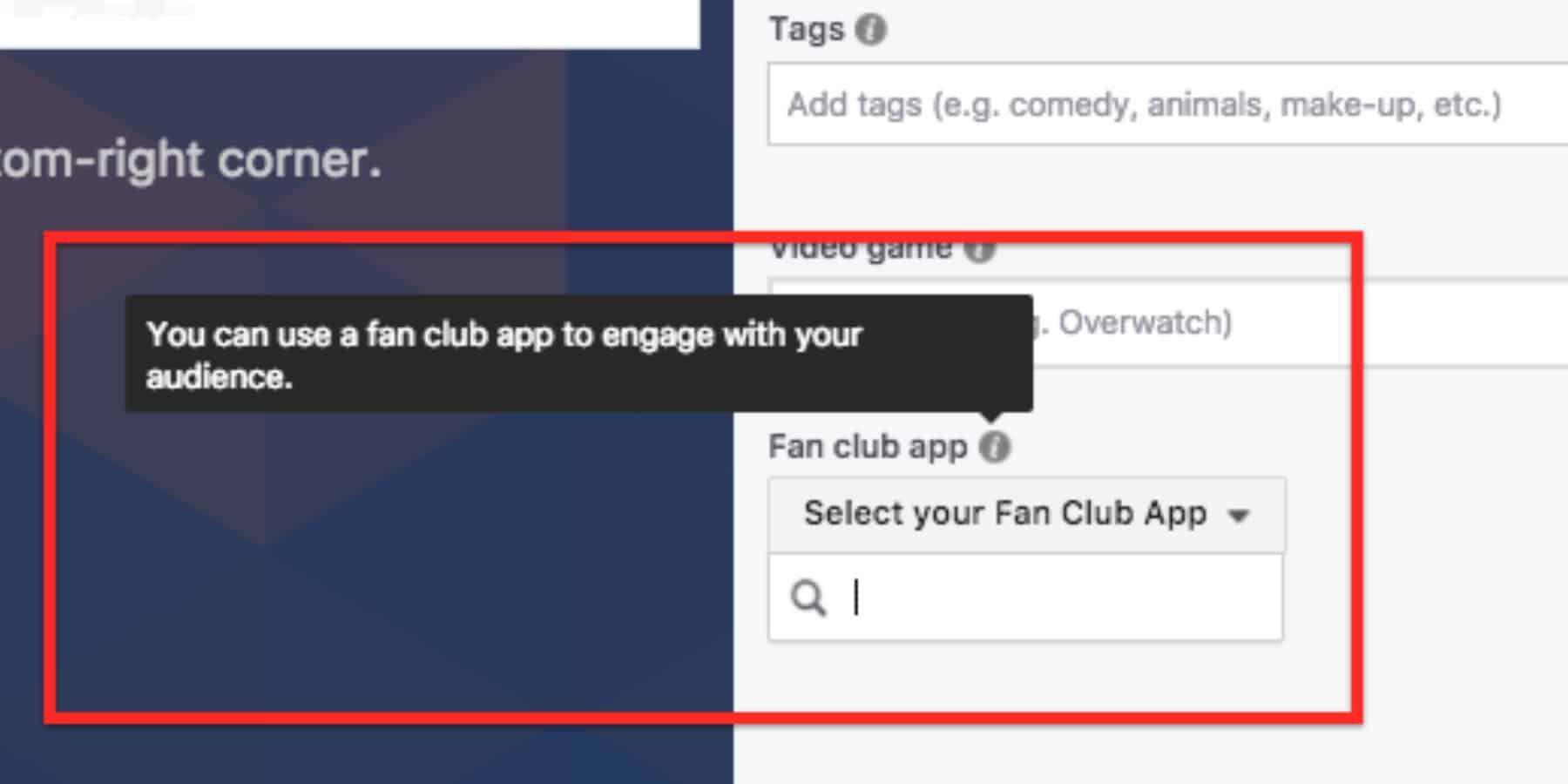 Fan Club App