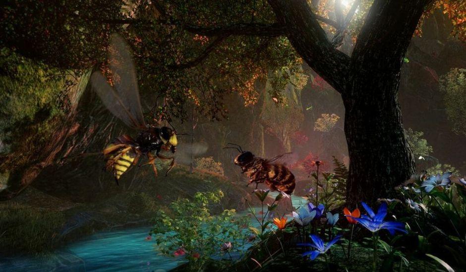 bee simulator jeu video abeille
