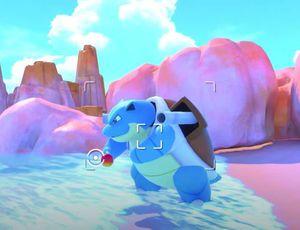 Tortank dans le jeu New Pokémon Snap