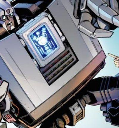 Couverture du crossover Transformers / Retour Vers Le Futur