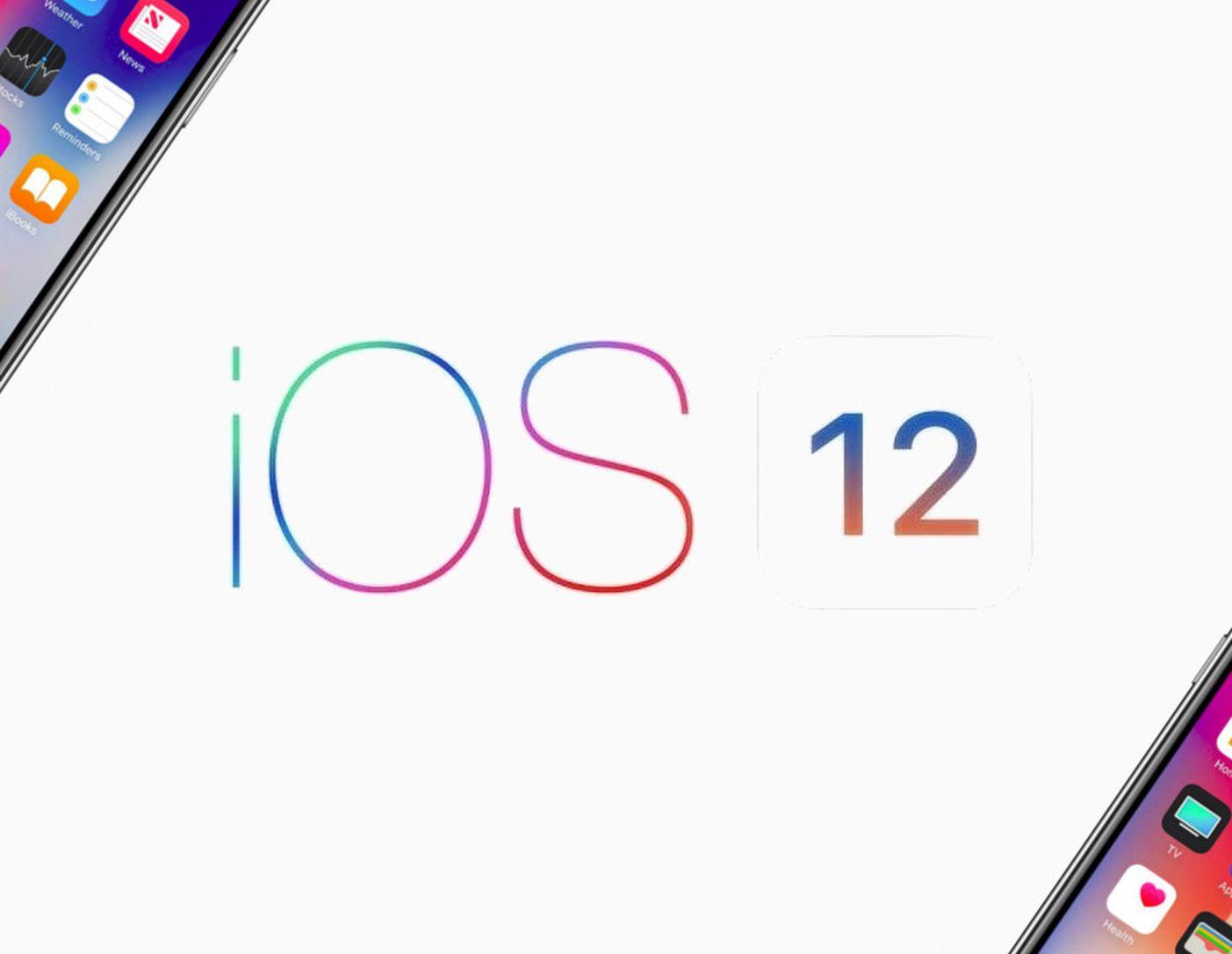 ios 12 apple