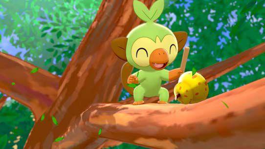 ouistempo pokémon type plante dans épée et bouclier