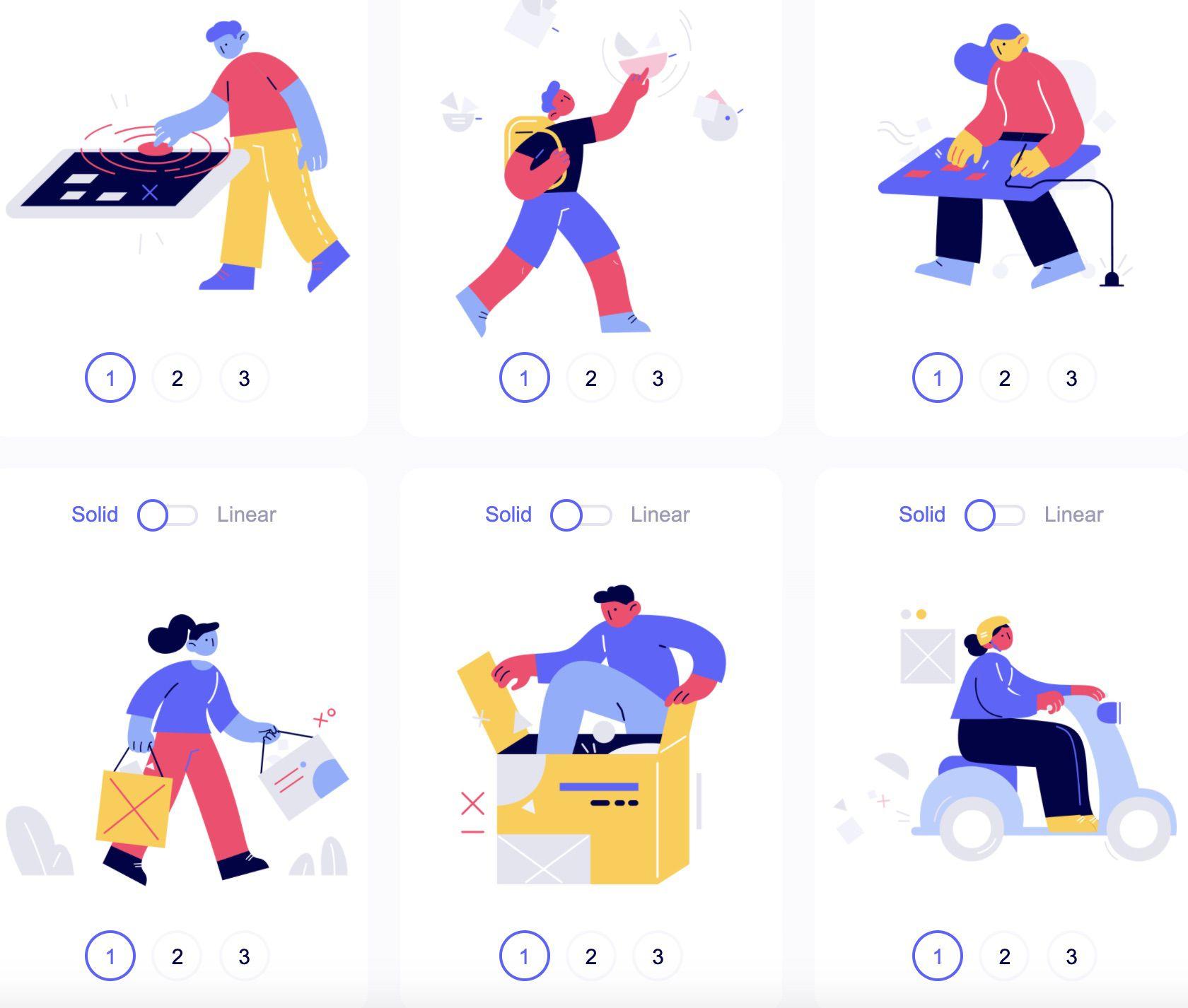 Des illustrations proposées sur Control Illustrations