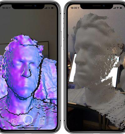 Capture : l'app pour scanner un visage en 3D.