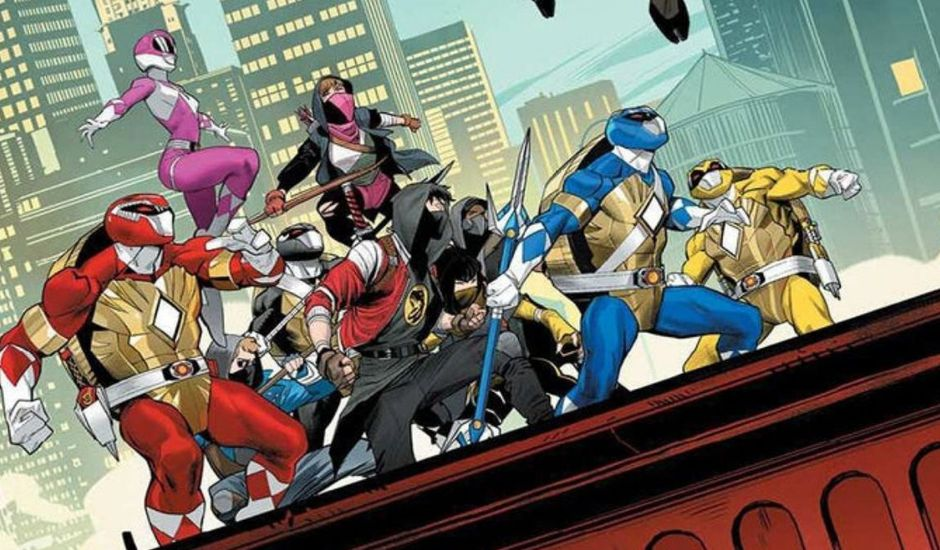 comics power rangers tortues ninja crossover fusion