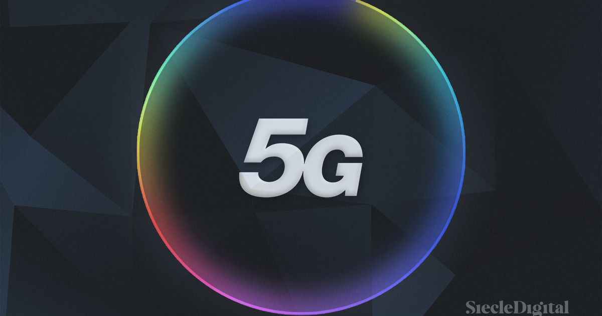 Illustration du logo de la 5G