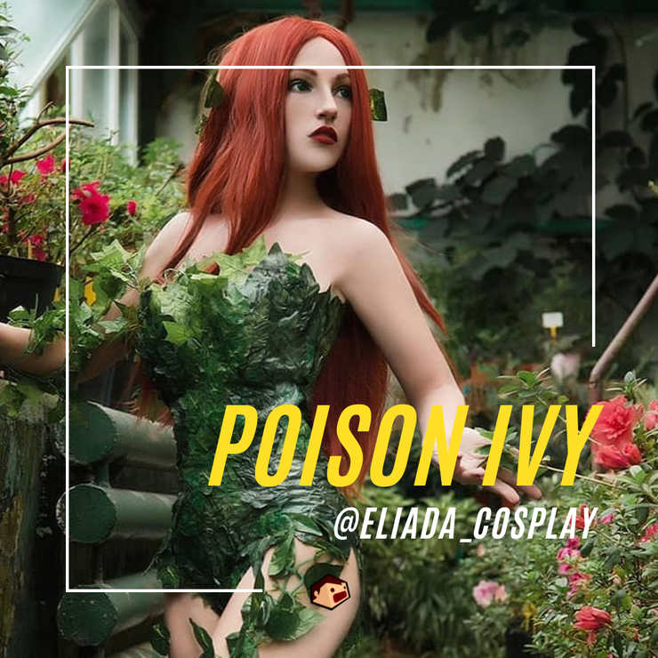 poison ivy cosplay DC