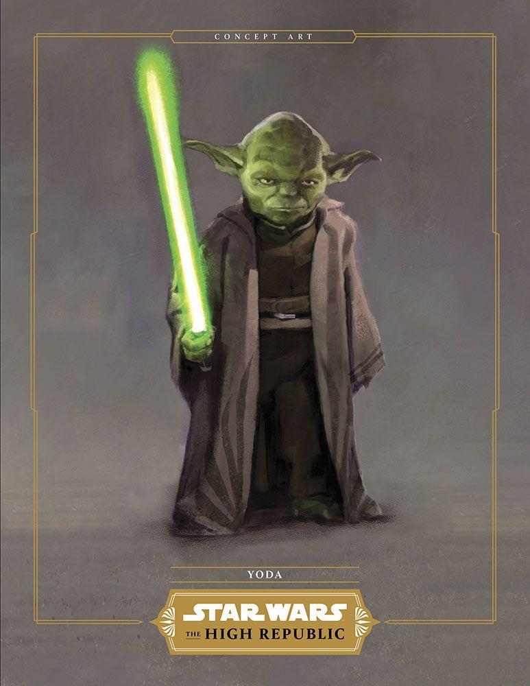 Maitre Yoda dans sa nouvelle tenue