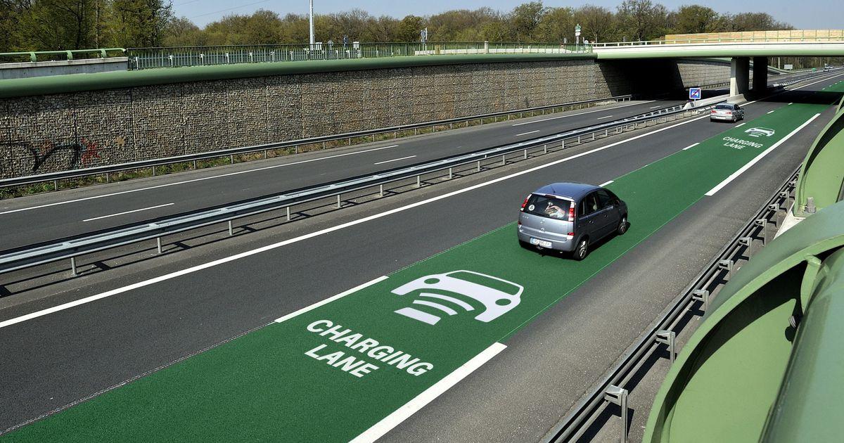 L'Allemagne teste une route qui recharge les voitures électriques