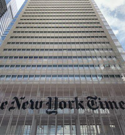 The New York Times blockchain