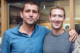 photo de Chris Cox et Mark Zuckerberg