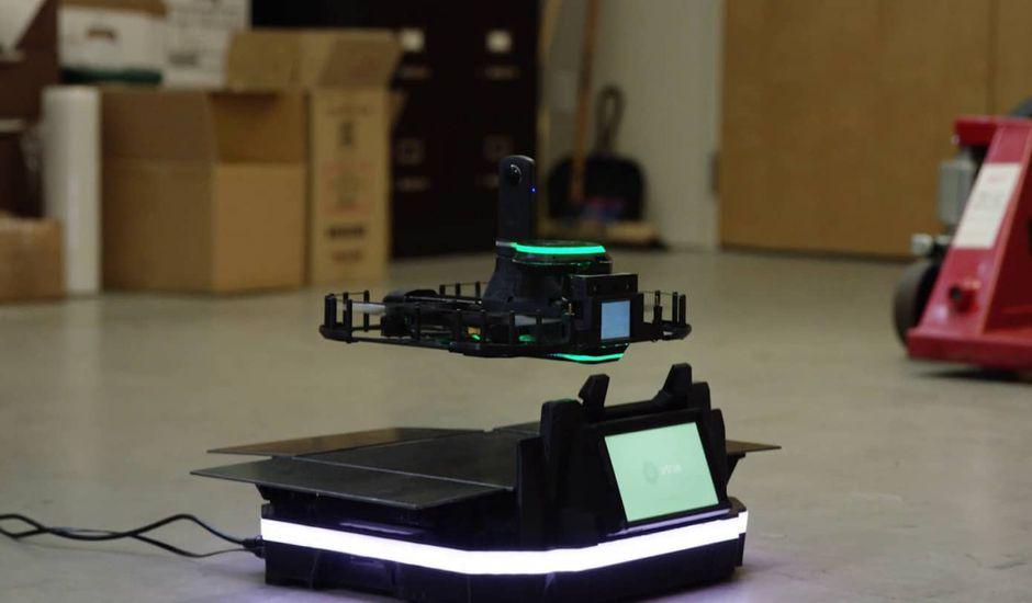 drones inspections bâtiments