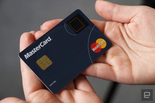 mastercard biométrique