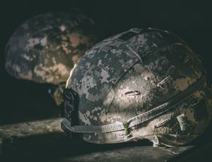 casque de militaire armee
