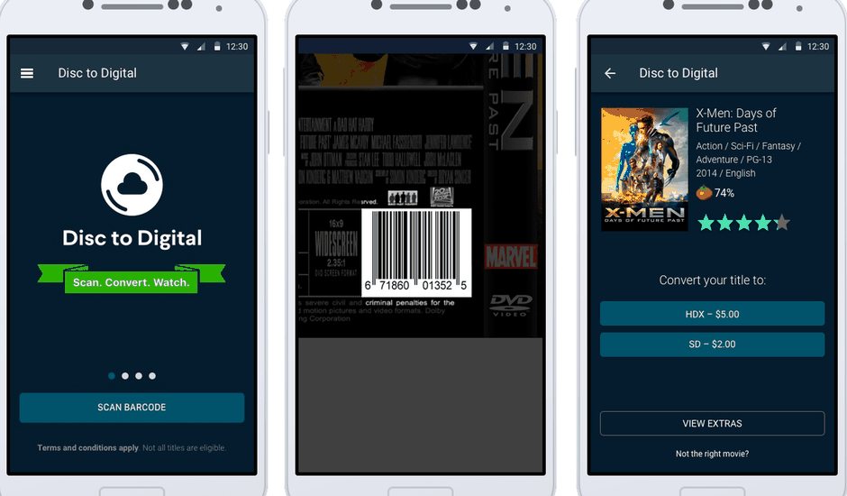 Vudu application
