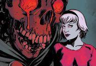Comics art des nouvelles aventures de Sabrina