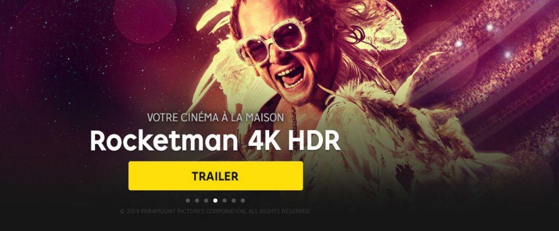 Image film prise sur le service VOD proposé par Rakuten