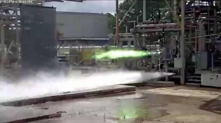 Le moteur du vaisseau Blue Moon mis à l'épreuve