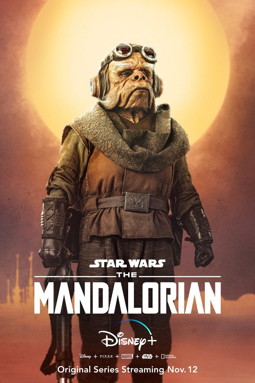Nick Nolte dans Star Wars The Mandalorian
