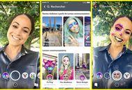 Snapchat lance son magasin de filtres en réalité augmentée : Lens Explorer