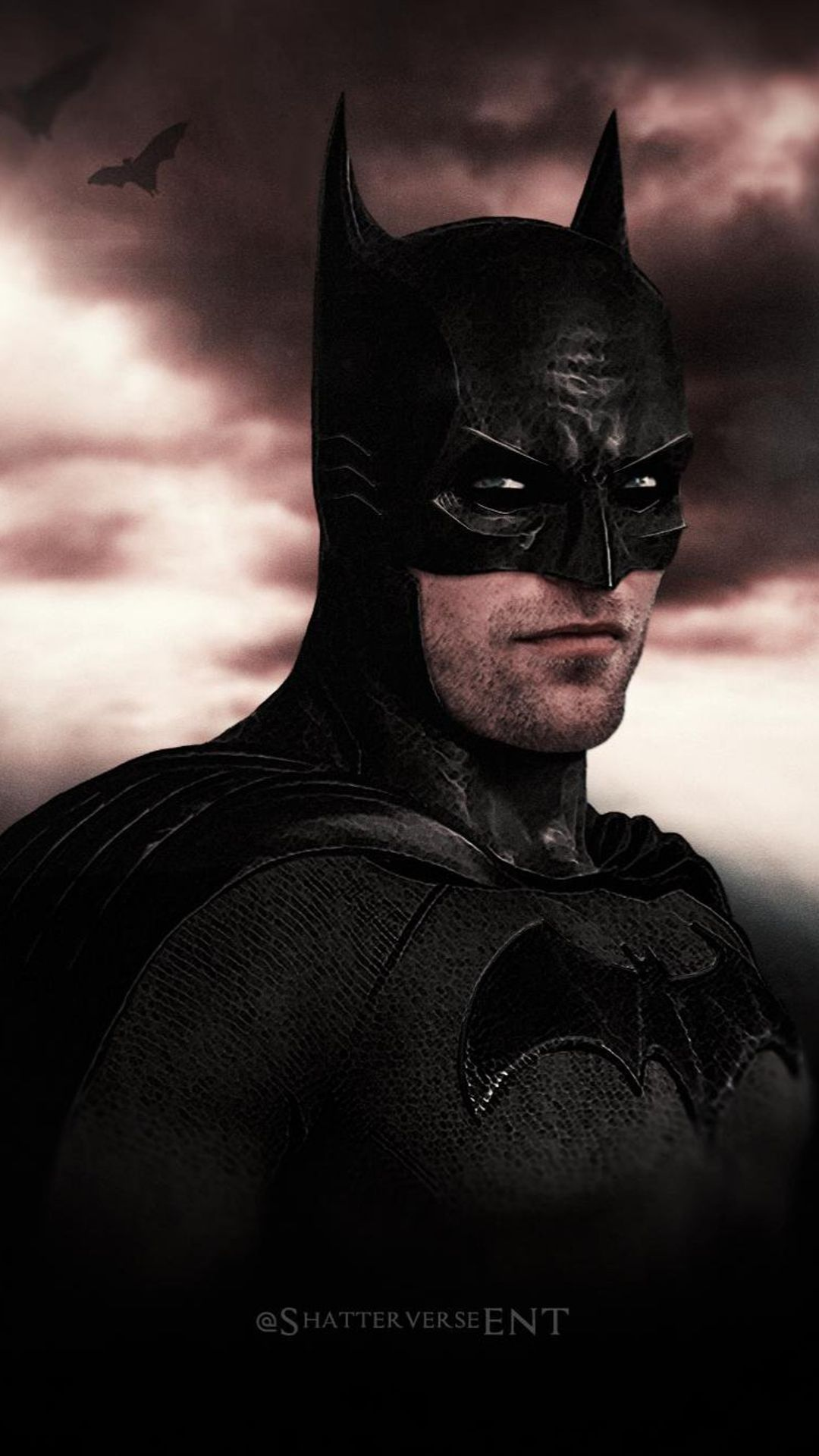 artwork de the batman avec robert pattinson