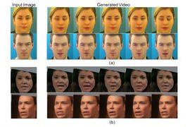 Une IA capable de retranscrire des données audio dans des animations faciales.
