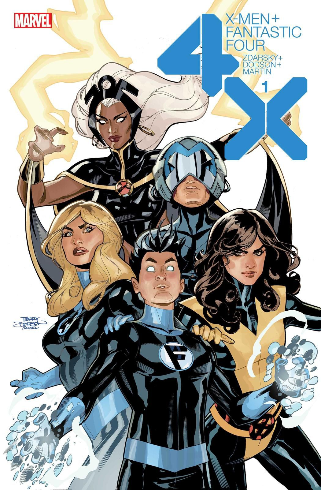 comics crossover X-Men / Les 4 Fantastiques tome #1