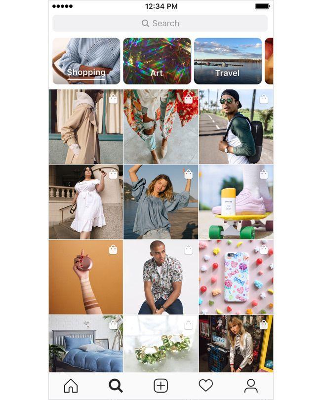 Instagram lance officiellement la fonctionnalité Shopping dans les Stories et déploie un onglet dédié dans Explore