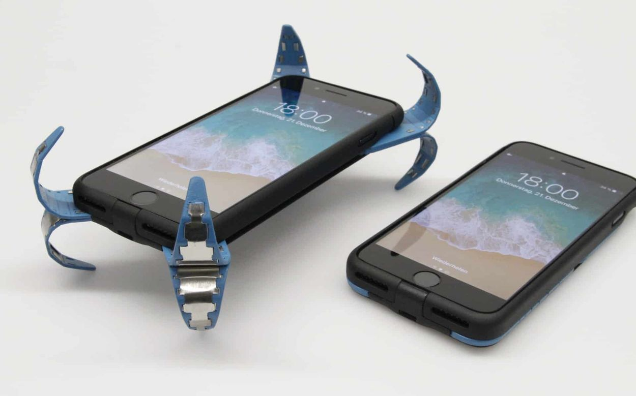 iPhone : un étudiant invente une coque révolutionnaire contre les chutes