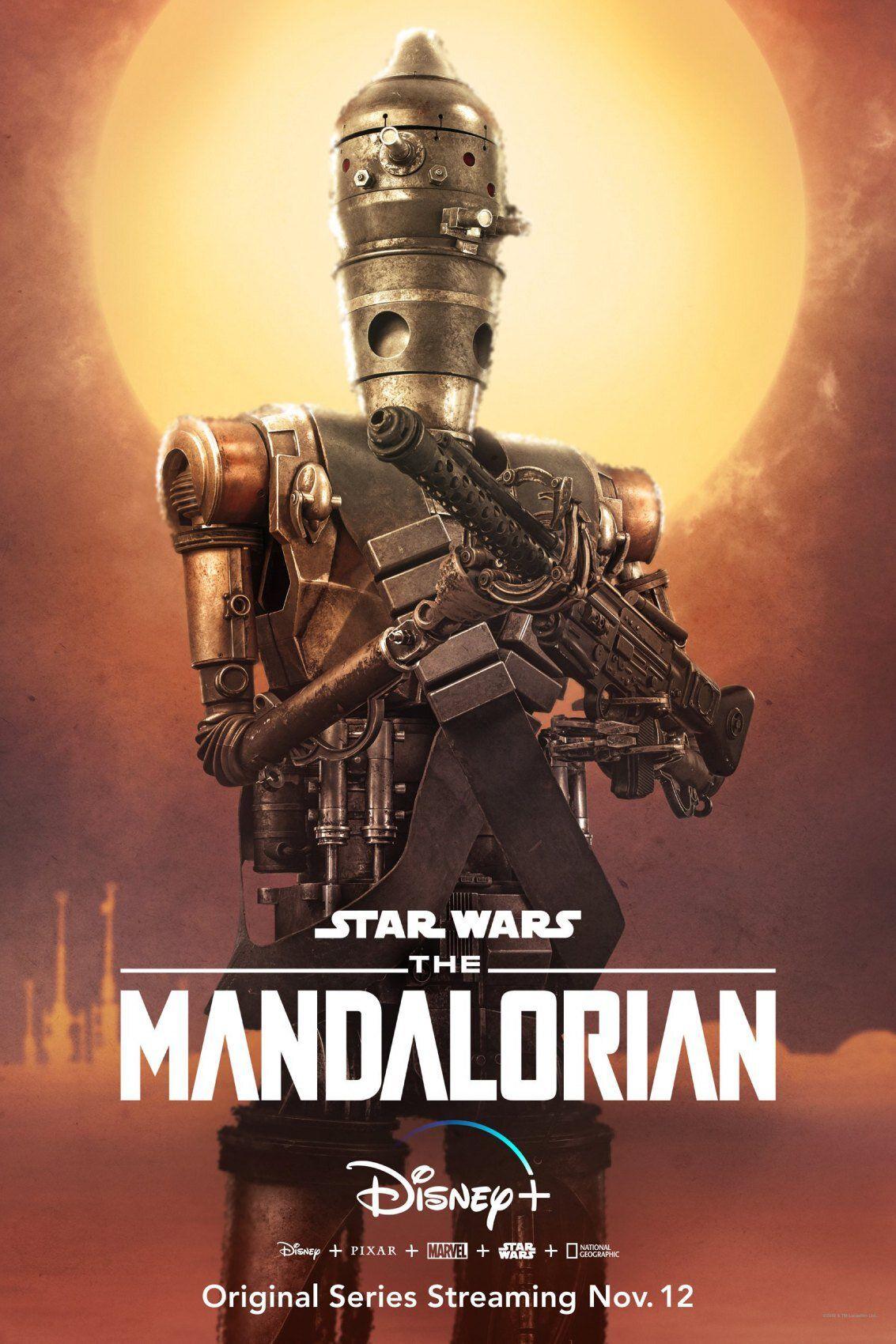 droïde IG-11 dans The Mandalorian