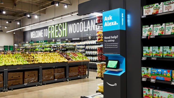 L'épicerie Amazon Fresh