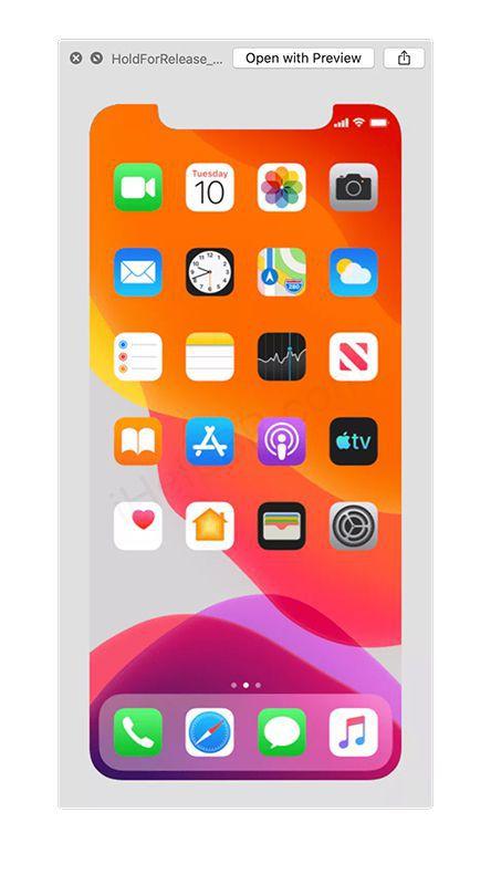 La dernière version bêta d'iOS 13 donne des indices sur l'iPhone 11