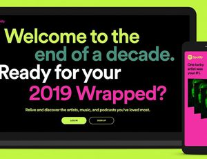 Spotify Wrapped 2019.
