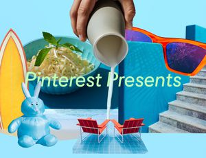 Visuel utilisé pendant le sommet Pinterest Presents