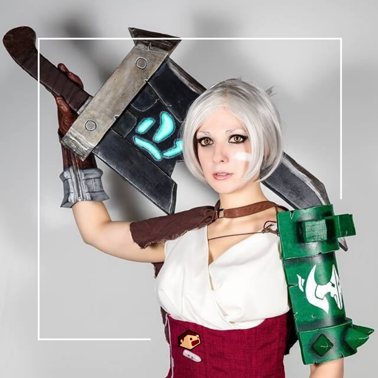 riven league of legends LoL cosplay deedee