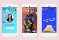 Facebook stories anniversaire
