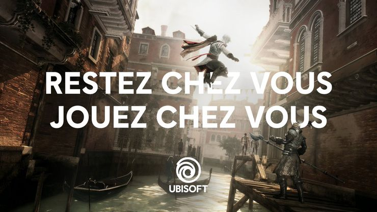 assassin's creed II ubisoft confinement 17 avril 2020
