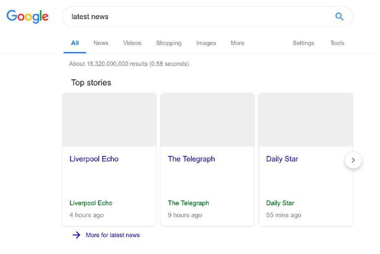 Face à la nouvelle loi européenne, Google nous montre à quoi cela pourrait ressembler