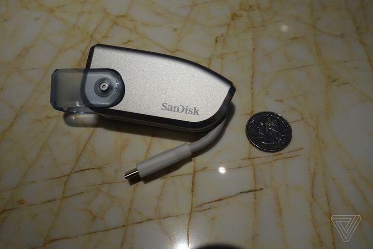 SanDisk a dévoilé un minuscule stockage mobile de 4TB