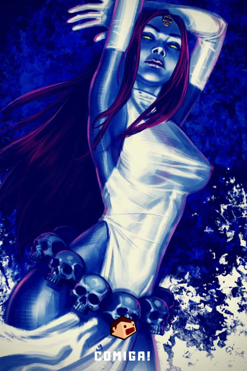 super-vilains marvel comics mystique