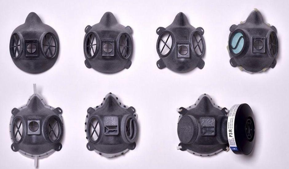 Masques de protection.