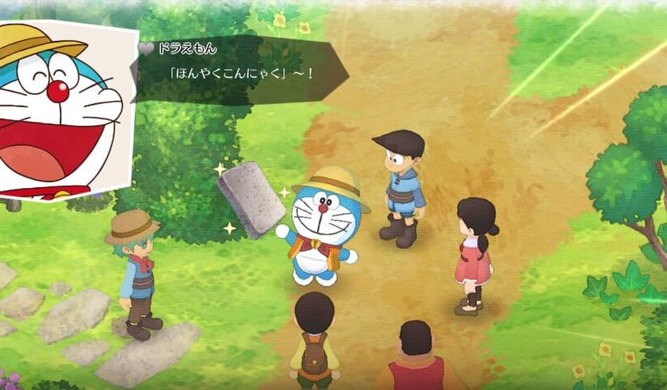 Le crossover Doraemon Story of Seasons