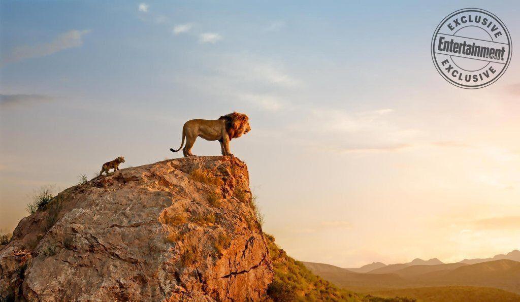 le roi lion film 2019 disney simba et mufasa