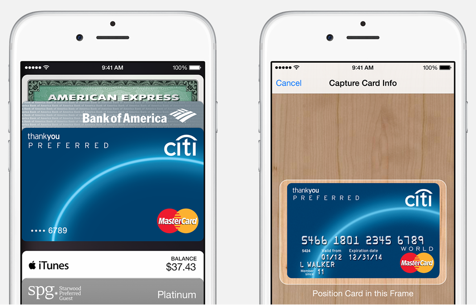 Apple Pay où son iPhone/iWatch devient un portefeuille