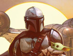 Couverture de The Art of the Mandalorian