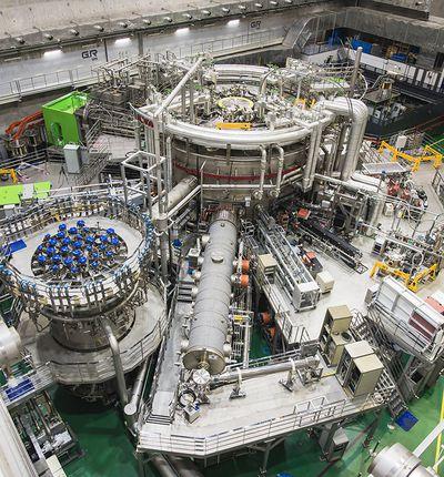 Le KSTAR (Korea Superconducting Tokamak Advanced Research) est le réacteur nucléaire sud-coréen.