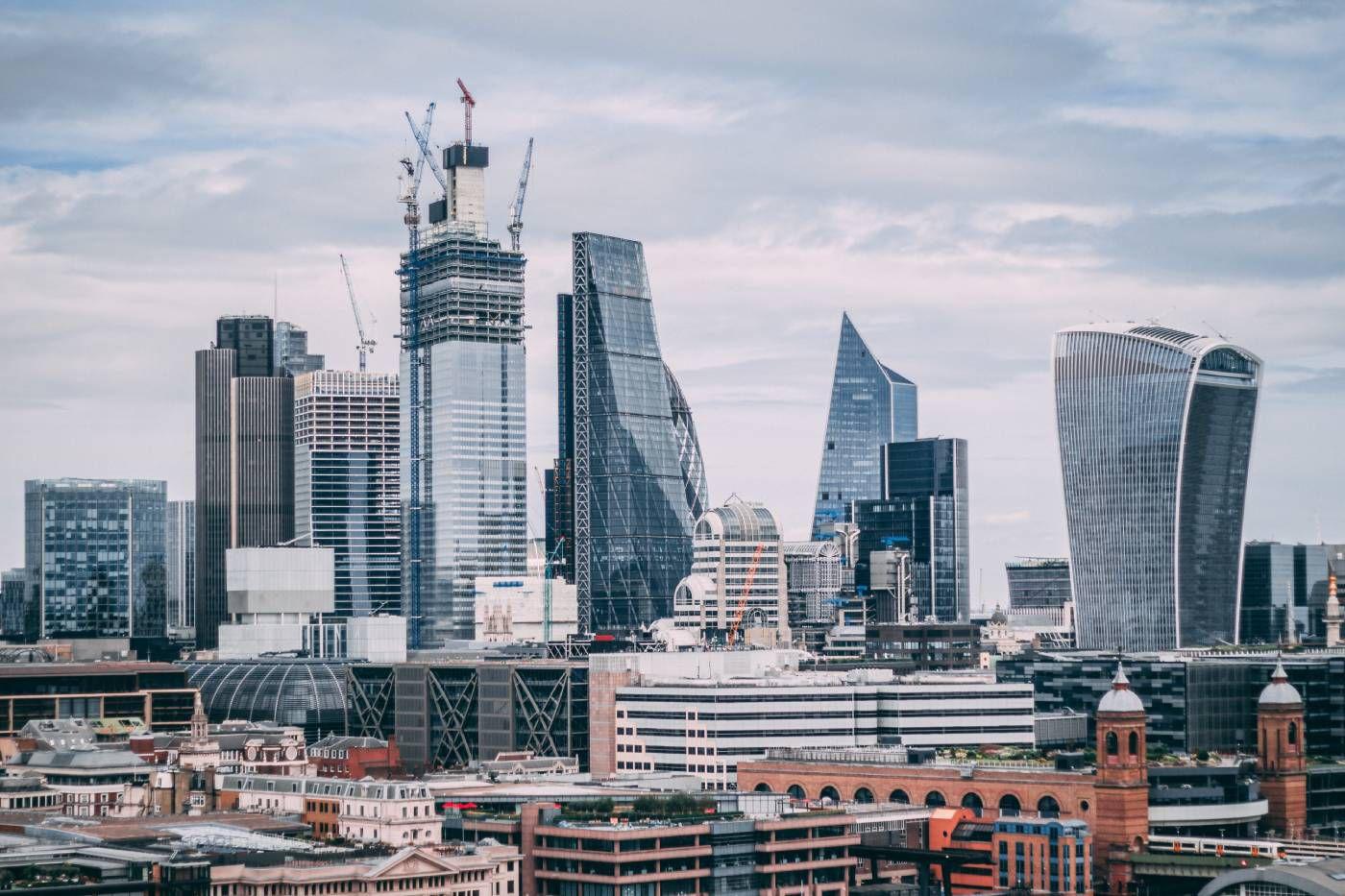 La City à Londres.