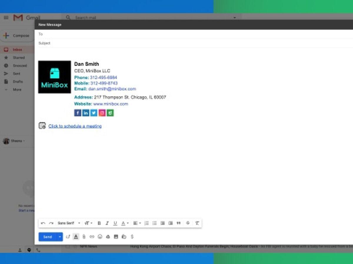 Créez de belles signatures email directement dans Gmail avec cette extension Chrome gratuite !